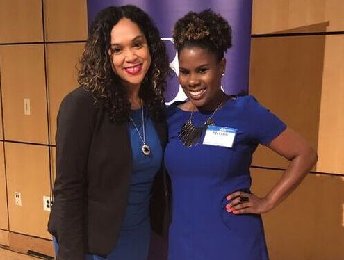 Marilyn Mosby and Melianie Bates